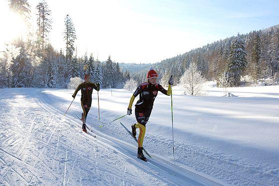 Langlauf in Baiersbronn